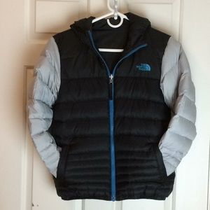 North Face Reversible Down Puffer Jacket